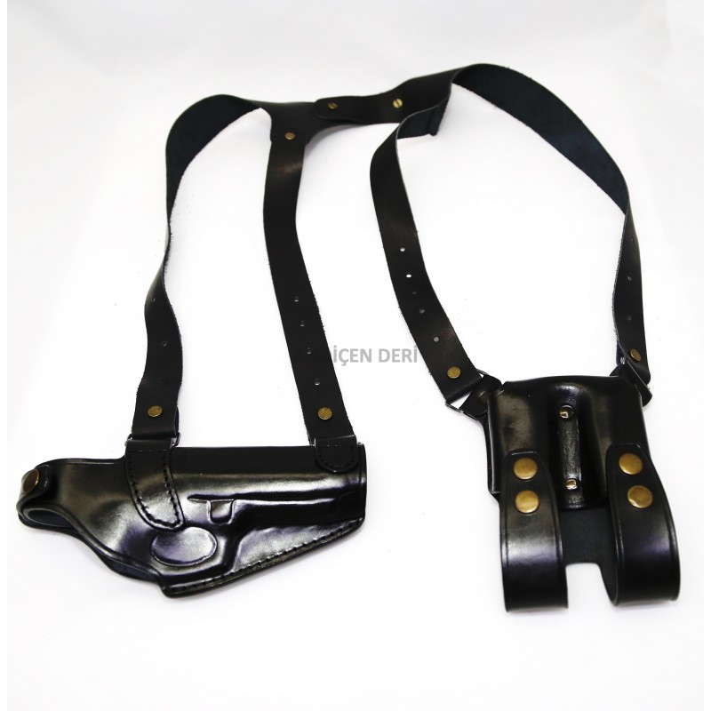 Shoulder LEATHER HOLSTER Andiçen Deri - 4